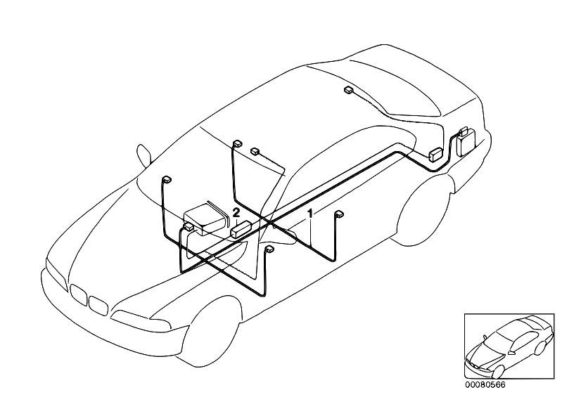 Original Parts for E46 330xd M57 Touring / Audio