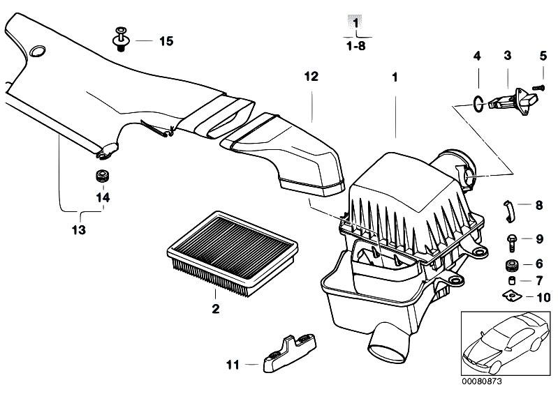 Original Parts for E46 M3 S54 Coupe / Fuel Preparation