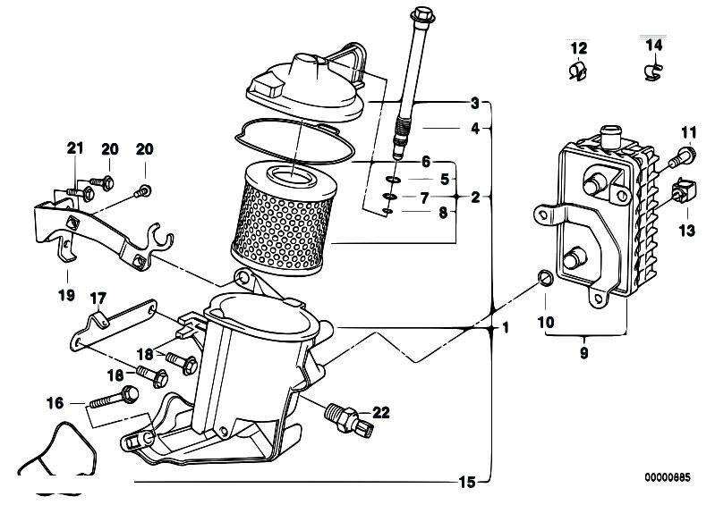 Original Parts for E36 318tds M41 Compact / Engine