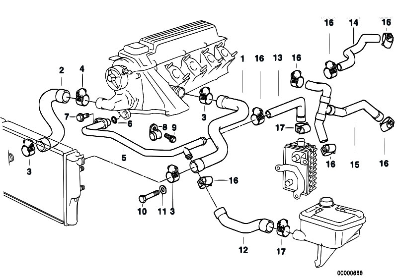 Original Parts for E36 318tds M41 Compact / Engine