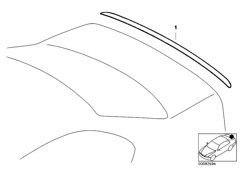 Original Parts for E46 316i 1.9 M43 Sedan / Vehicle Trim