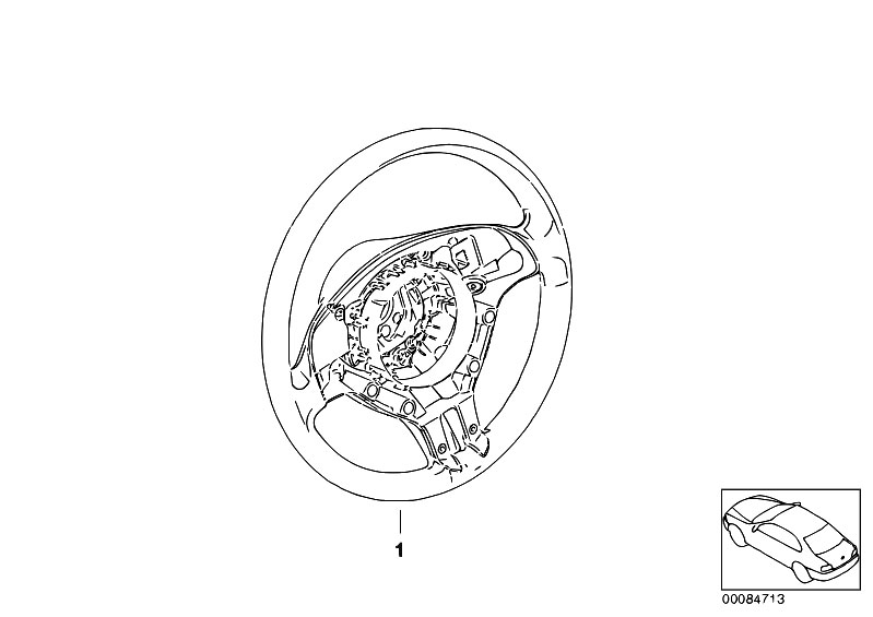 Original Parts for E46 318i N42 Touring / Steering