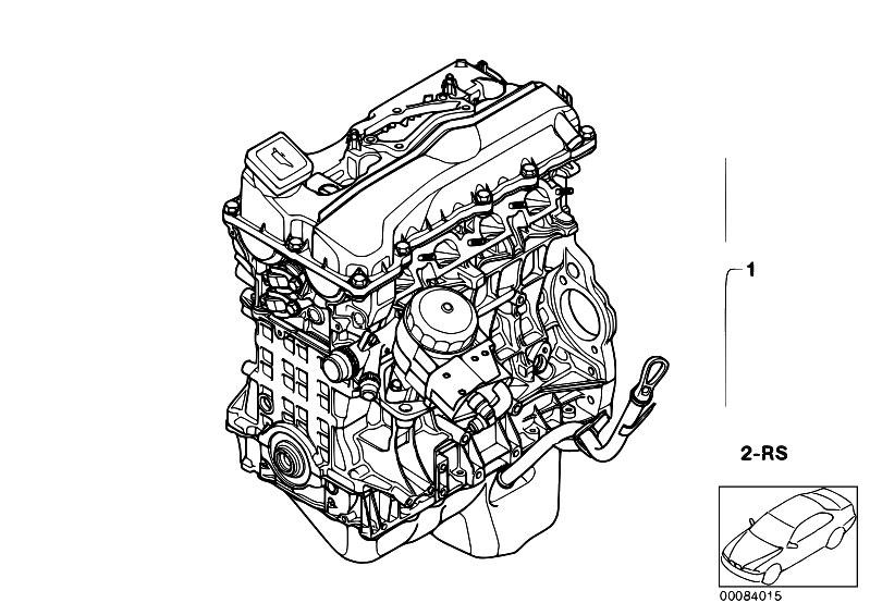 Original Parts for E46 316i N46 Touring / Engine/ Short