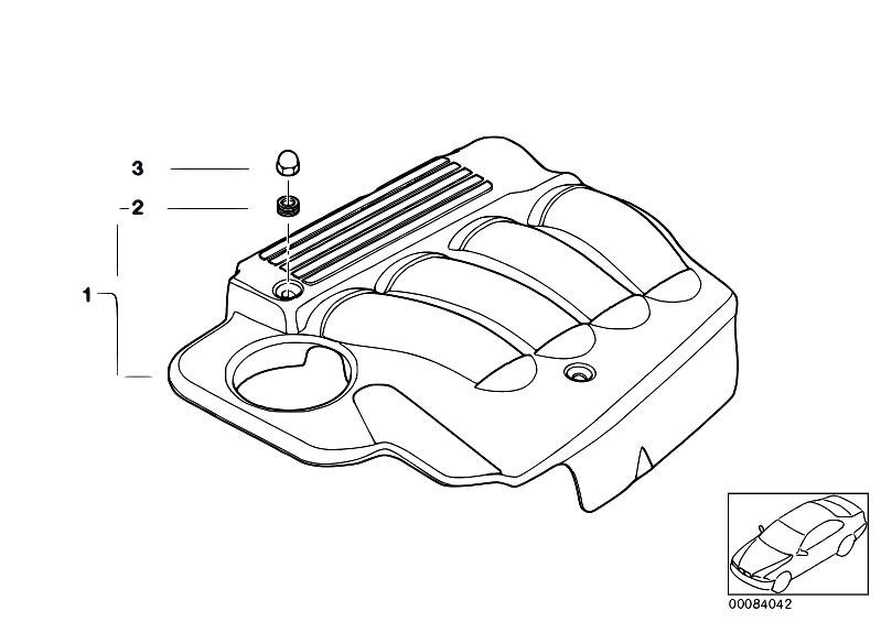 Original Parts for E46 318i N46 Touring / Engine/ Engine
