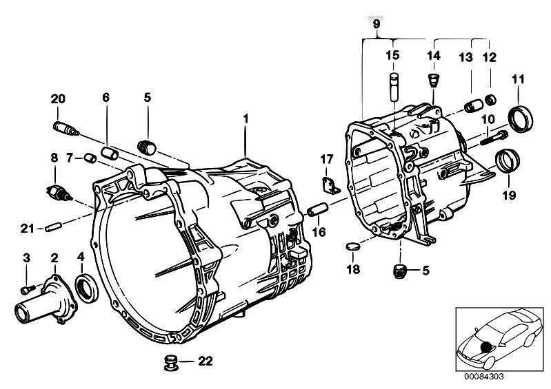 Original Parts for E46 328i M52 Touring / Manual