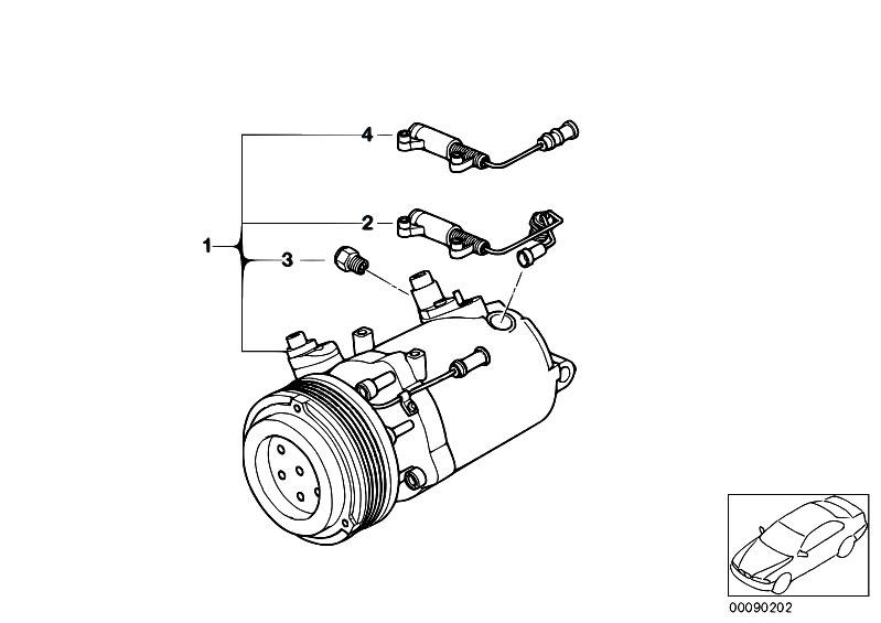 Original Parts for E46 318i M43 Sedan / Heater And Air
