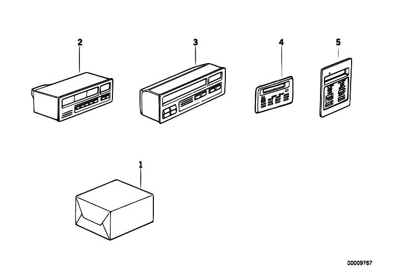 Original Parts for E30 318i M40 4 doors / Instruments
