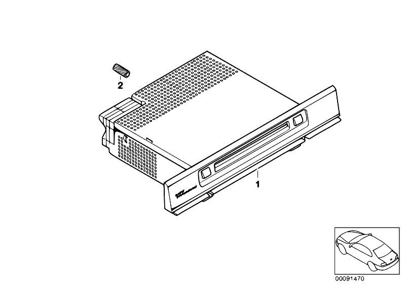 Original Parts for E53 X5 3.0d M57 SAV / Audio Navigation