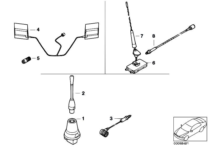 Original Parts for E46 316ti N42 Compact / Communication