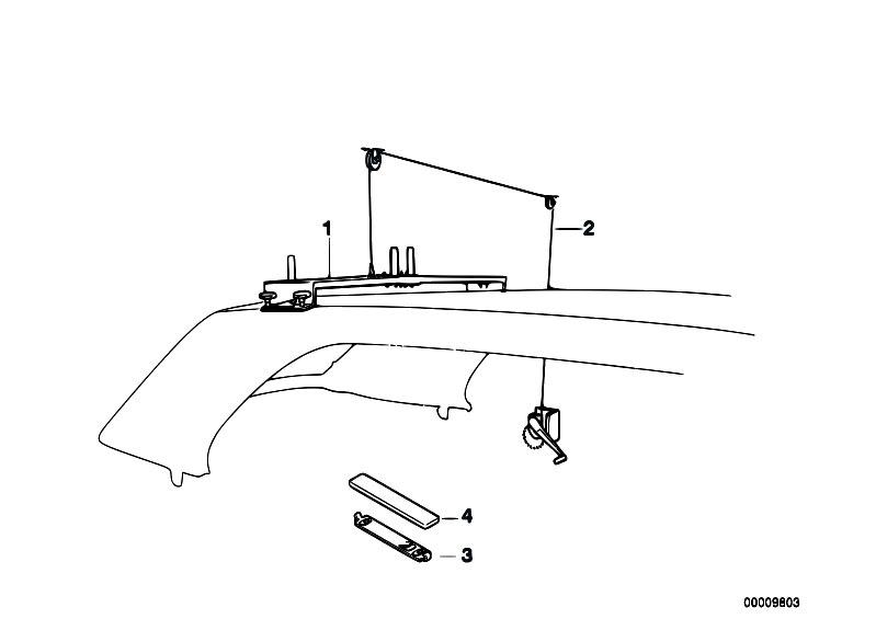 Original Parts for E30 318i M40 Cabrio / Universal
