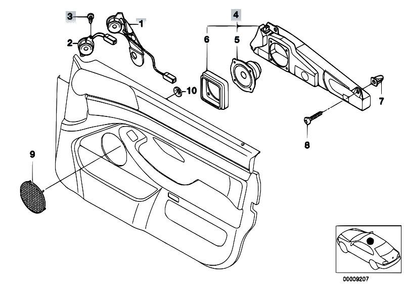 Original Parts for E39 523i M52 Sedan / Audio Navigation