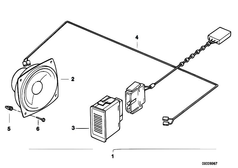 Original Parts for E36 318ti M42 Compact / Communication