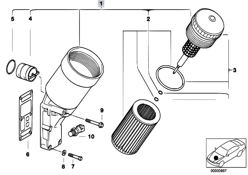 Original Parts for E36 316i M43 Sedan / Engine