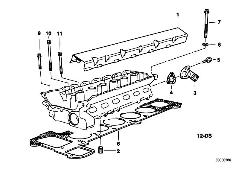 Original Parts for E36 320i M50 Sedan / Engine/ Cylinder