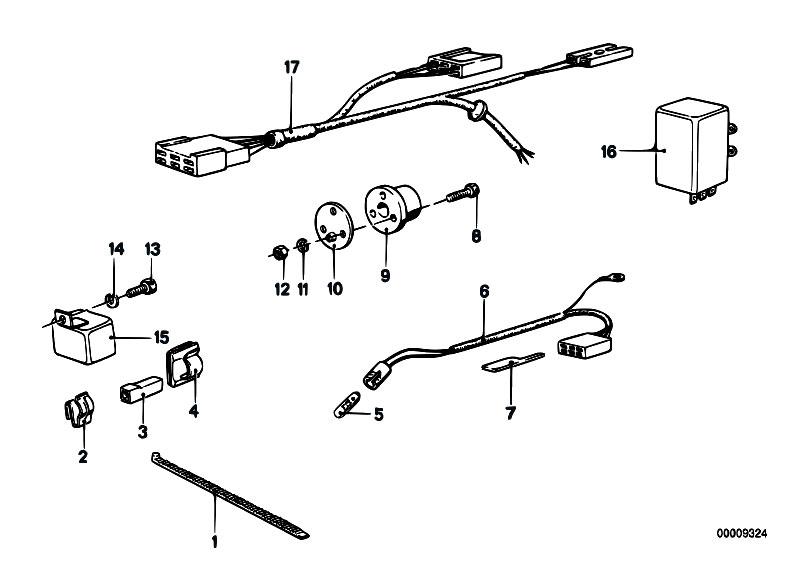 Original Parts for E21 318i M10 Sedan / Equipment Parts