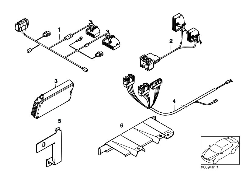 Original Parts for E39 525td M51 Sedan / Communication