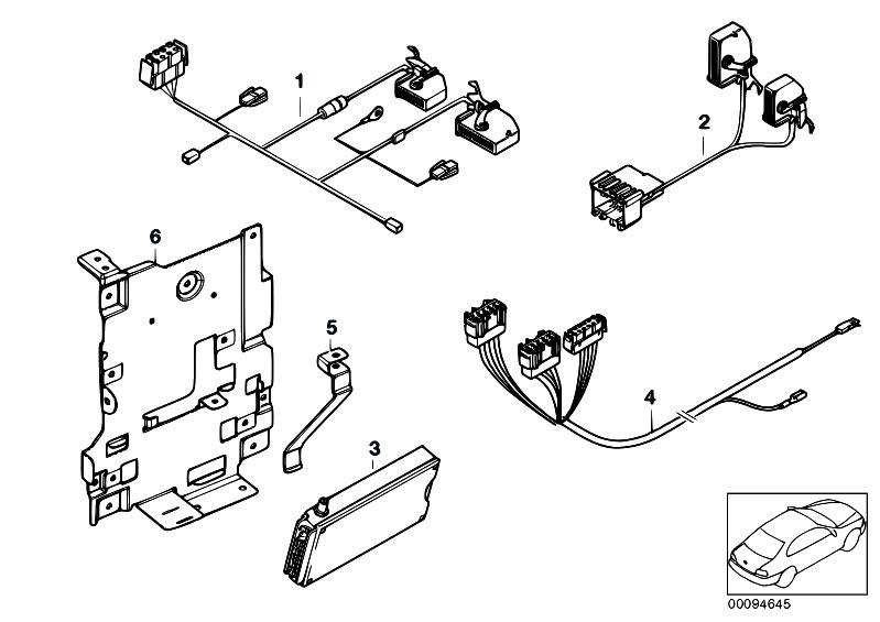 Original Parts for E53 X5 3.0d M57 SAV / Communication