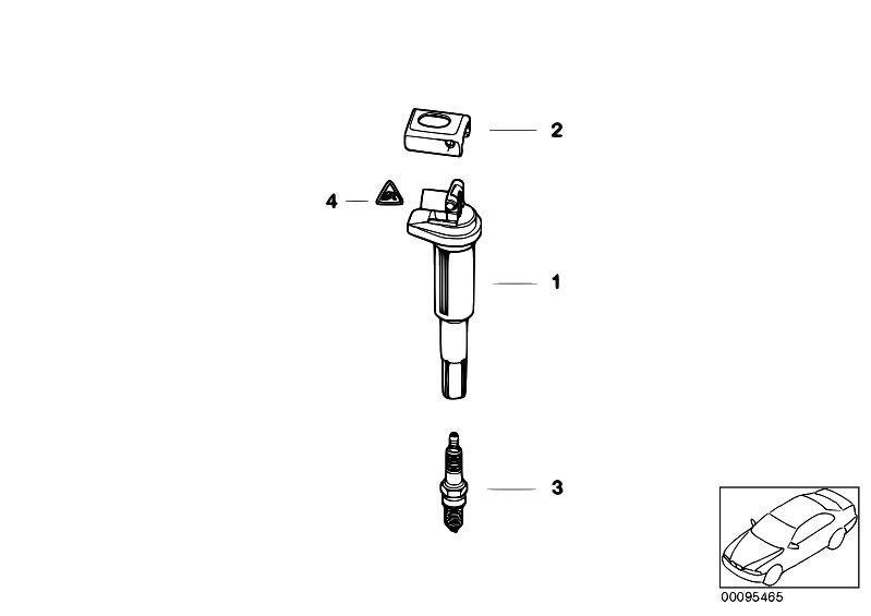 Original Parts for E92 M3 S65 Coupe / Engine Electrical