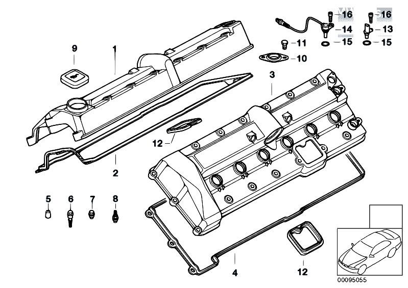 Original Parts for E67 760LiS N73 Sedan / Engine/ Cylinder
