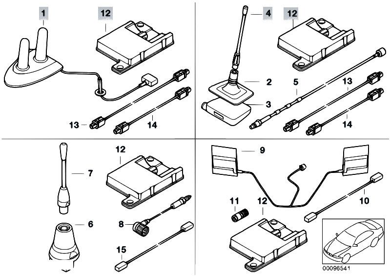 Original Parts for E39 530d M57 Sedan / Communication