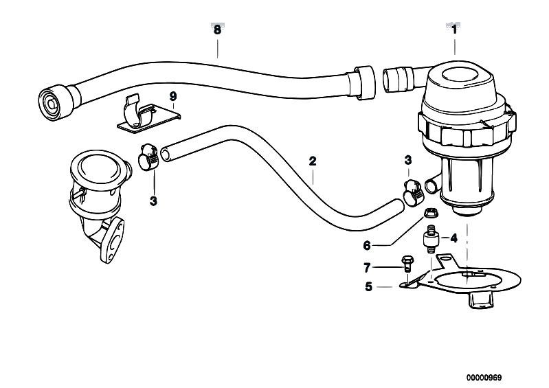Original Parts for E36 323ti M52 Compact / Engine