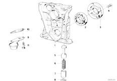 Original Parts for E34 518g M43 Touring / Engine/ Cooling