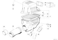 Pièces detachées pour les E30 316i M40 Touring / Fuel