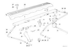 Original Parts for E34 520i M50 Touring / Fuel Preparation