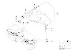 Original Parts for E46 330d M57 Touring / Fuel Supply