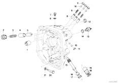 Original Parts for E30 318i M10 4 doors / Manual