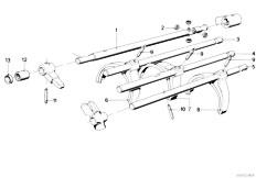 Original Parts for E12 528 M30 Sedan / Manual Transmission