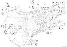 Original Parts for E34 520i M50 Sedan / Manual