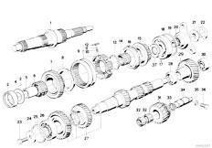 Original Parts for E34 M5 3.8 S38 Sedan / Manual