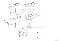 Original Parts for E34 525tds M51 Touring / Fuel Supply