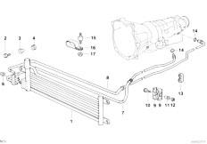 Original Parts for E36 325tds M51 Touring / Radiator