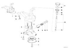 Original Parts for E34 524td M21 Sedan / Engine/ Engine