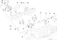 Original Parts for E36 323ti M52 Compact  Engine Air Pump F Vacuum Control  eStoreCentral