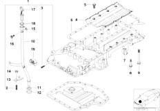 Original Parts for E31 840Ci M62 Coupe / Engine/ Timing