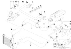 Original Parts for E38 725tds M51 Sedan / Engine/ Timing