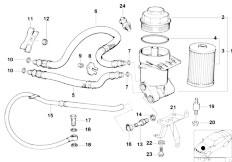 Original Parts for E39 540i M62 Touring / Engine/ Lubricat