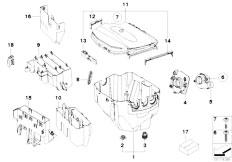Original Parts for E90 328i N51 Sedan / Engine Electrical