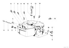 Original Parts for E12 518 M10 Sedan / Fuel Preparation