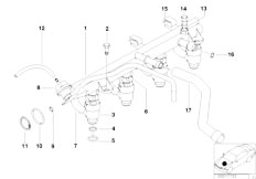 Original Parts for E46 316i 1.9 M43 Sedan / Fuel