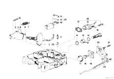 Original Parts for E21 320 M20 Sedan / Fuel Preparation