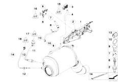Original Parts for F01 730d N57 Sedan / Fuel Preparation