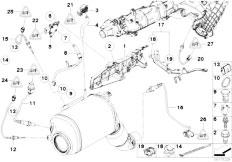 Original Parts for E90N 330d N57 Sedan / Fuel Preparation