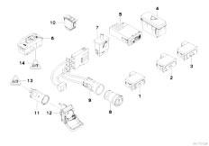 Original Parts for E39 525tds M51 Touring / Vehicle