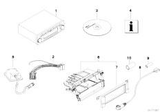 Original Parts for E46 318d M47N Touring / Audio