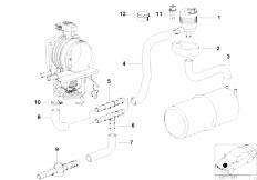 Original Parts for E39 528i M52 Sedan / Fuel Preparation