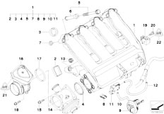 Original Parts for E90 320d M47N2 Sedan / Engine/ Belt